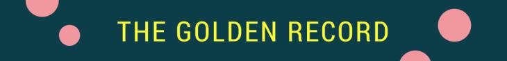 SC Golden Record Banner